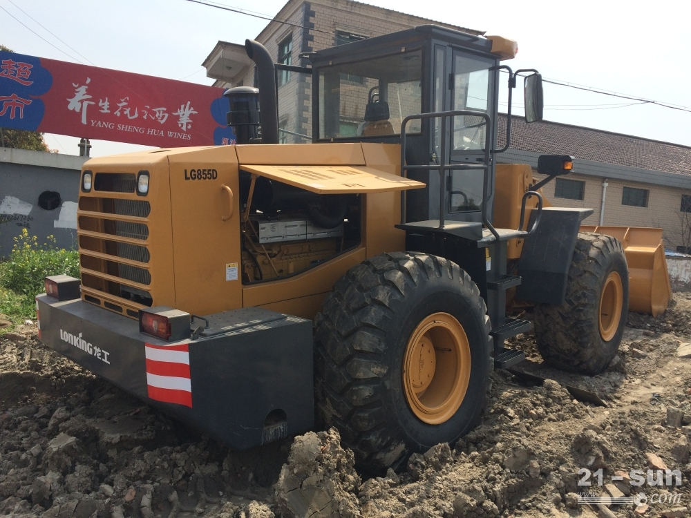 LG855D二手挖掘机