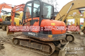 斗山DH60-7二手挖掘机