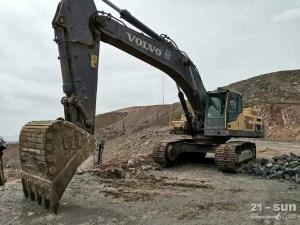 沃尔沃480D二手挖掘机