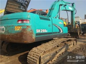 神钢神钢SK260-8挖掘机二手挖掘机