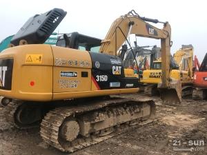 卡特315D澳门赌城平台挖掘机