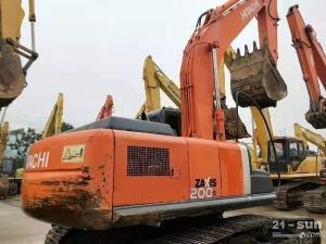 日立200-3g二手挖掘机
