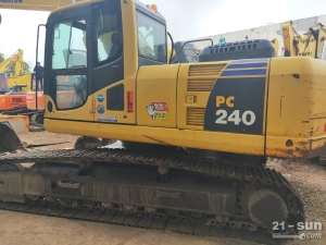 小松PC200、240二手挖掘机