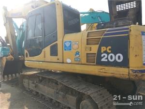 小松小松PC200-8挖掘机利发国际挖掘机