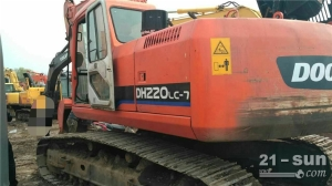 斗山斗山DH220-7挖掘机利发国际挖掘机