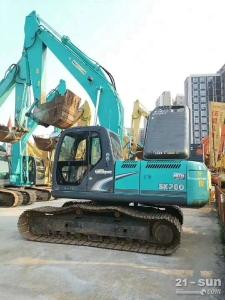神钢SK200和260二手挖掘机