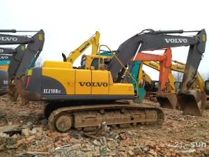 沃尔沃210和360在线配资网挖掘机