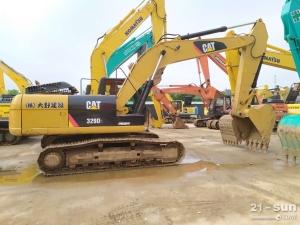 卡特320和323二手挖掘机
