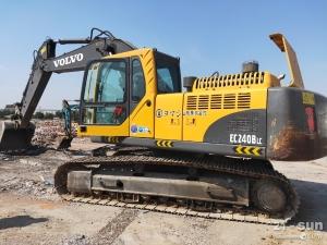 沃尔沃EC240BLC二手挖掘机
