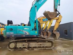 神钢200和260二手挖掘机
