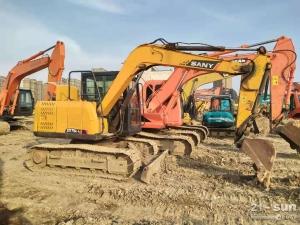三一75和135二手挖掘机