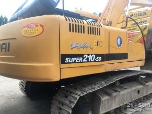 现代现代210-5D二手挖掘机