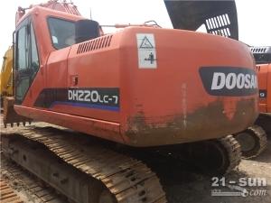 斗山斗山DH220-7挖掘机色姑娘久久综合网挖掘机