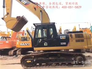 卡特彼勒CAT329D2二手挖掘机