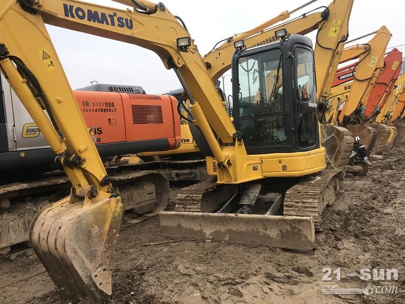 小松小松55二手挖掘机