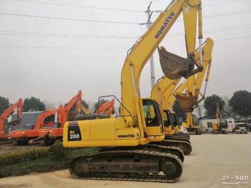 小松200小松240二手挖掘机