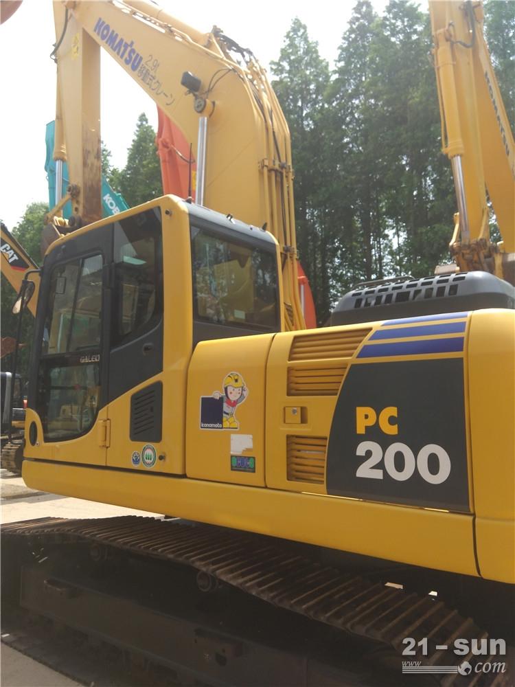 小松小松PC200-8挖掘机二手挖掘机