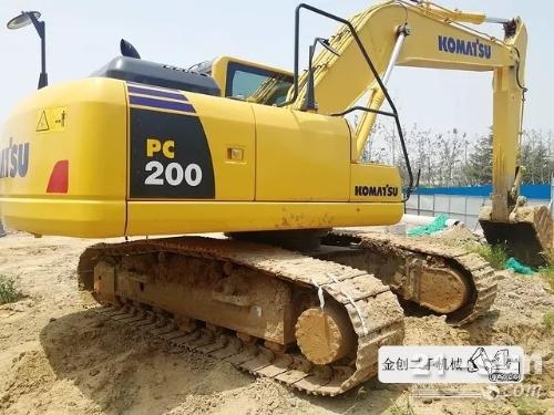 小松200-8二手优德w88中文官网登录