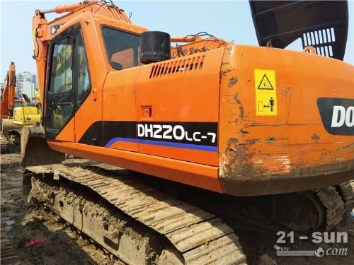 斗山斗山DH220-7挖掘机二手挖掘机