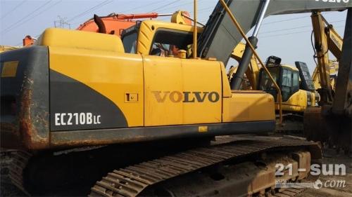 沃尔沃沃尔沃EC210BLC二手挖掘机