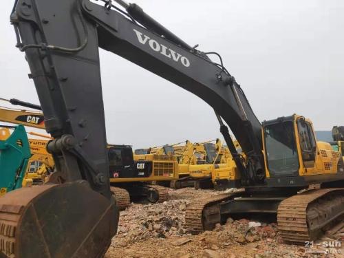 沃尔沃EC460blc二手挖掘二手beplay官方在线客服