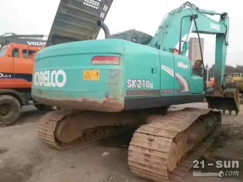 神钢SK210二手挖掘机