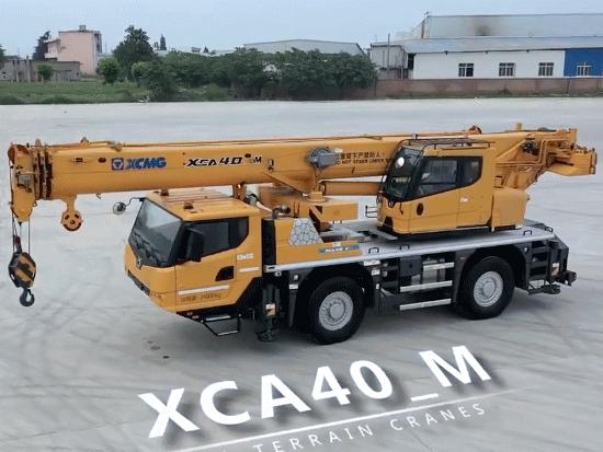 徐工 XCMG XCA40_M 国产高端两轴全地面起重机