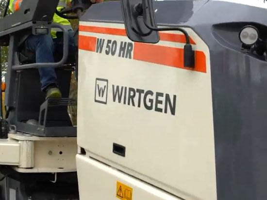 维特根W50HR/W55HR新一代半米档智能铣刨机介绍