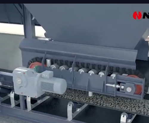 南方路机 全环保沥青混合料搅拌设备动画