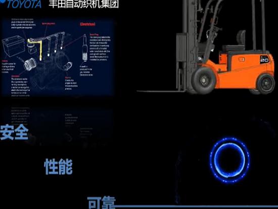 台励福8L全新系列电动叉车上市
