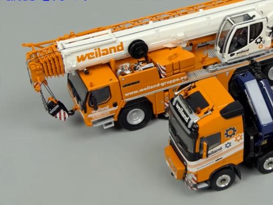 利勃海尔 Liebherr LTM1090起重机静态模型