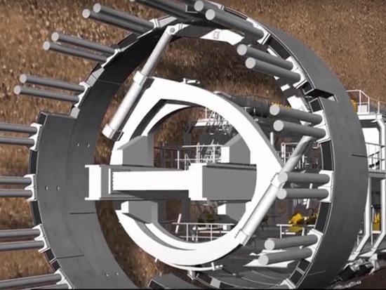 巨型隧道工程機器盾構機原理