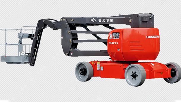 GTHZ170自行式电动曲臂高空作业平台