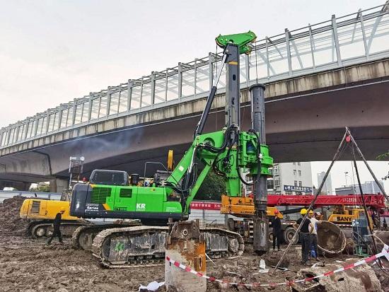 KR50南京堤坝加固工程