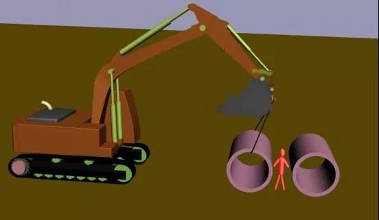 挖掘机吊装注意事项!