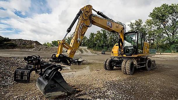 新一代卡特M316轮式挖掘机全面介绍