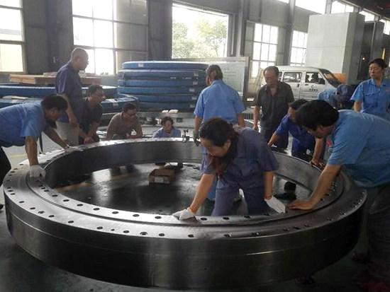 洛阳特重轴承通过盾构机主轴承修复保养再制造创造效益