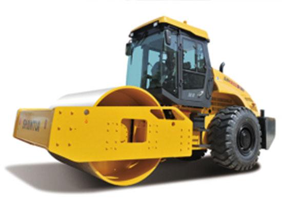 压实能手:山推SR26M-3大吨位压路机