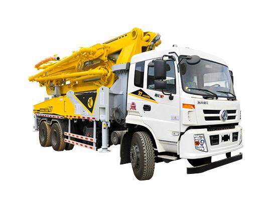 为什么混凝土泵车浇筑要一次成型?