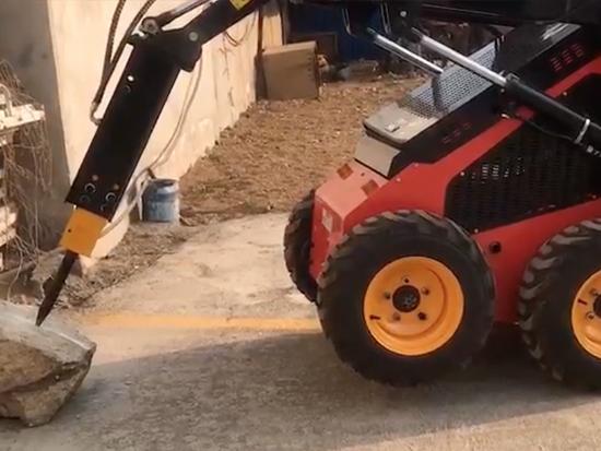 滑移破碎锤可加装多种属具