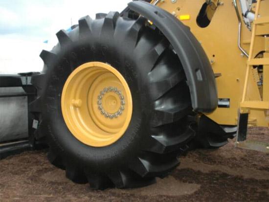 作为轮式装载机更容易被忽略的零件 选择正确的轮胎非常重要!