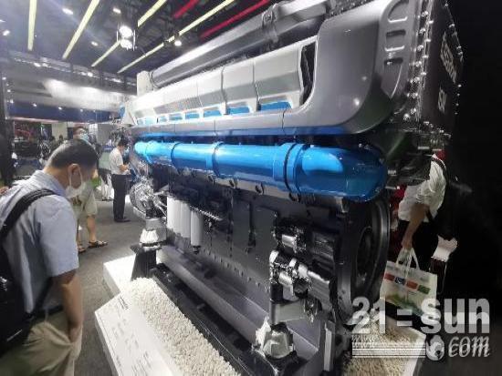 """大缸径、高颜值、实力派……潍柴全系列发电动力上海""""亮肌肉""""!"""
