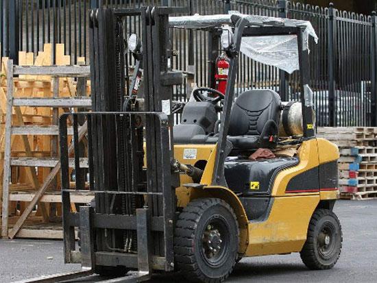 叉车制动系统的检测维修