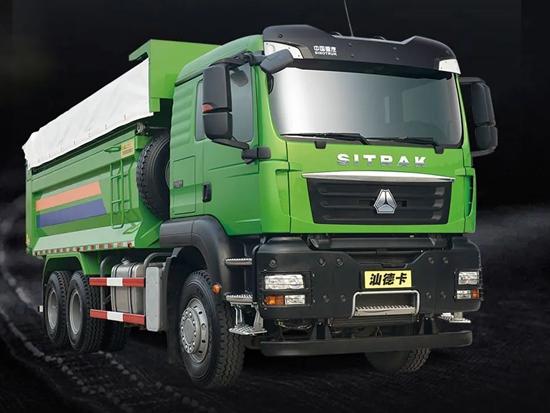"""中国重汽:卡车界的""""绿巨人"""",看自卸硬汉如何凭实力出圈!"""
