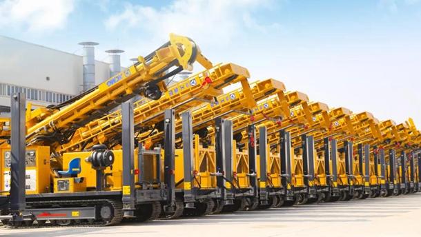 徐工能源钻采机械举行盛大发车仪式