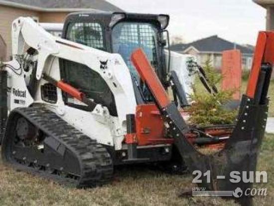 怎样保养好山猫挖树机