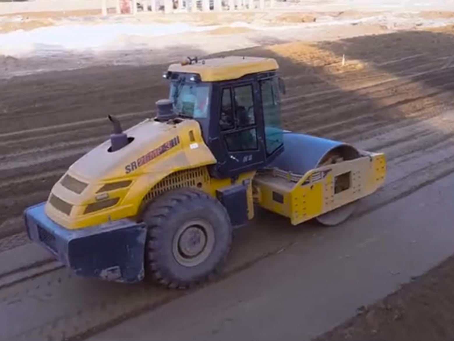 山推路基设备——压路机施工典型案例
