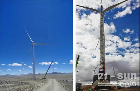 5150米! 中联重科履带吊再创全球最高海拔风电吊装新纪录