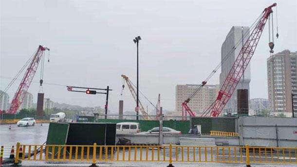 担的起重任,耐得住考验—— 中联首台全回转在杭州持续作战八个月