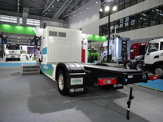 上汽红岩布局新能源领域 氢燃料车型能否代表未来?